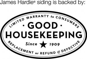 Good Housekeeping Seal, James Hardie