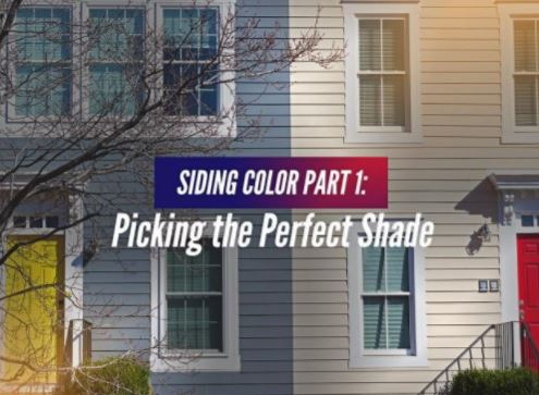 Siding Color Part 1 Picking The Perfect Shade
